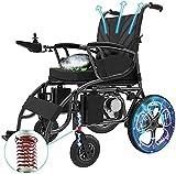 MENG Portátil Eléctrica Totalmente Automática para la Silla de Ruedas de la Scooter Multifuncional Inteligente para Los Ancianos con Discapacidades