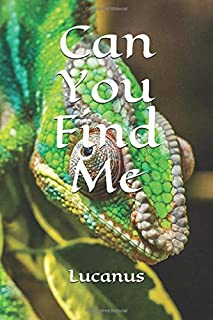 Can You Find Me: Chameleons Are Awesome, Gecko, Iguana, Small Dragon, Lizard Journal To Write In, Lined Notebook For Schoo...