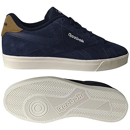 Reebok Royal COMPLETE3LOW, Zapatillas de Tenis Unisex Adulto, VECNAV/Sepia/Chalk, 40 EU