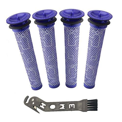 Dyson フィルター V6 GLOSSE DC58、DC59、DC61、DC62、DC74、V6、V7、V8対応 互換品 洗濯可能