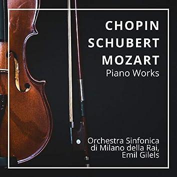 Chopin, Schubert & Mozart: Piano Works