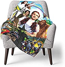The Wizard Of Oz Baby Blanket Unisex Wrap Soft Neutral Receiving Blanket for Boys and Girls, 30 X 40 Inches