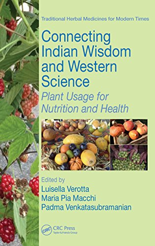 Connecting Indian Wisdom and Western Science: Plant Usage for Nutrition and Health (Traditional Herbal Medicines for Modern Times Book 15)