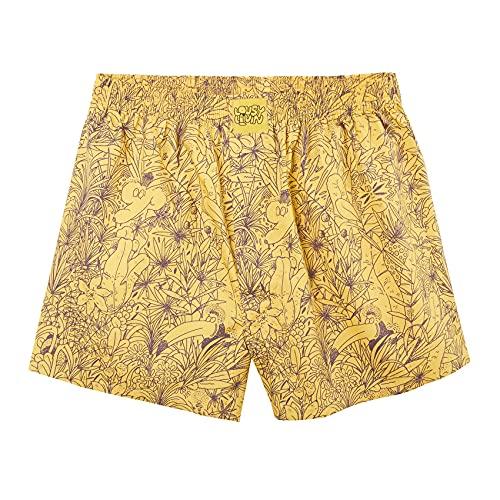 Lousy Livin Boxershorts Tropical (Yellow) (L, l)