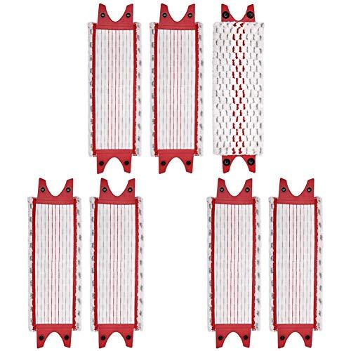Nrpfell Paquete de 7 Almohadillas de Microfibra de Mopas de Piso de Repuesto para Recambio de Fregona Vileda Ultramax