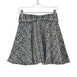 (アラマンダ) Allamanda ウエストリボン ツィード スカート