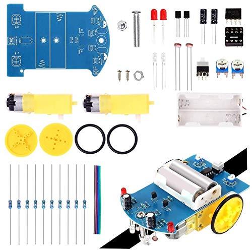 Zyilei- Motor Gleichstrom Linie Nach dem Auto-DC-Motor, Lötpraxis-Kit, elektronisches DIY-Projekt, Stiel-Lernprojekt, Verschleißfest