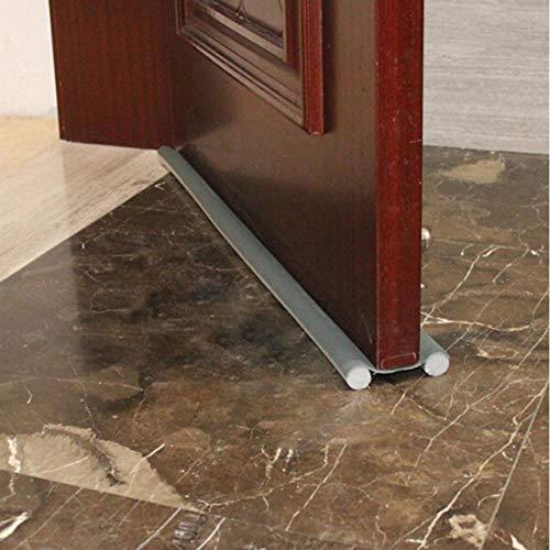 Zmdmg 95cm Türstopper Zugluftschutz Flexible Tür Bodenabdichtung Streifenschutz Wind Staubschutz Sealer Stopper Twin Door Decor