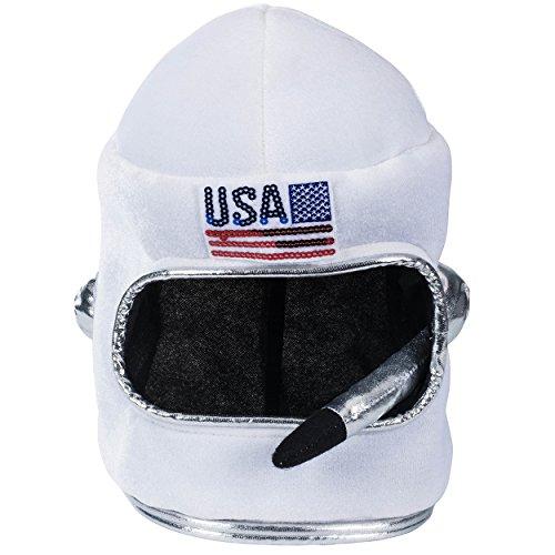 Tigerdoe Astronaut Helmet - Astronaut Costume - Space Helmet - Dress Up White