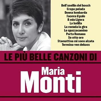 Le più belle canzoni di Maria Monti