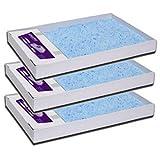 PetSafe ScoopFree BlauKristall-Einstreu PAL19-14657 3er Pack zu Katzenklo selbstreinigend
