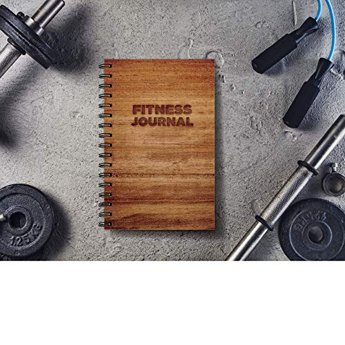 Product Image 9: Workout Fitness Journal Nutrition Planners: Clip-in Bookmark, Sturdy Binding, Thick Pages & Laminated Protective Cover (Brown)