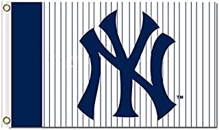 Five Star Flags New York Yankees Flag, Yankees Flag, Flag for Indoor or Outdoor Use, 100% Polyester, 3 x 5 Feet.