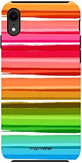 Macmerise IPCIXRTMI0402 Colourful Brush Strokes - Tough Case for iPhone XR - Multicolor (Pack of1)