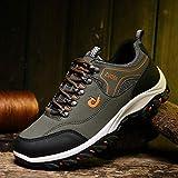 Aerlan Trailrunning Fitnessschuhe,Scarpe da Jogging Trainer,Scarpe da Trekking per Esterni Scarpe Antiscivolo Resistenti all'Usura per Escursionismo avventuroso-Green_41#
