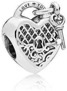 Pandora Love You Lock Sterling Silver Charm 797655