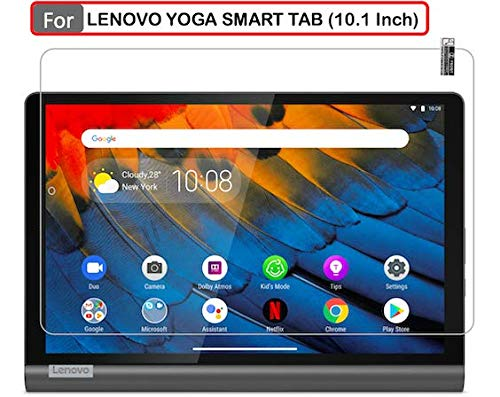 ARMOUR GUARDS 9H Screen Protector Guard | Tempered For LENOVO YOGA SMART Tab with Google Assistant (10.1 Inch) Full Screen Coverage Model Number ZA540019IN