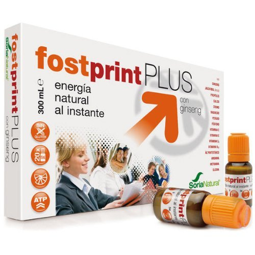 Fostprint Complemento Energético con Ginseng - 300 ml