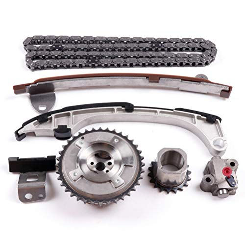 LSAILON Engine Timing Kit Chain Kit replacement for for TOYOTA CAMRY 2AR-FE 2.5 2.7 for LEXUS E300h HJ-05224-V Timing Chain Tensioner Gear Guide Rail