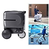 Zdcdy Smart Riding Scooter Suitcase, Lightweight Smart...