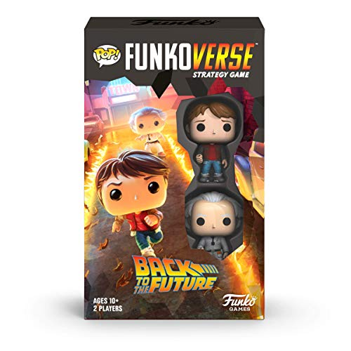 Funko 46068 Pop Funkoverse: Back to The Future-100 Expandalone Juego de Mesa de Estrategia, Multicolor