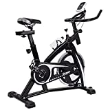 V-FIRE Indoor Cycling Bike Stationary - Exercise Cycle Bike with Water Bottle & Comfortable Seat Cushion