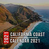 California Coast Calendar 2021: 12 Month Mini Calendar from Jan 2021 to Dec 2021, Cute Gift Idea | Pictures in Every Month
