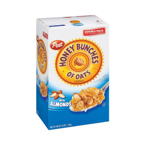 Post Honey Bunches Of Oats W/Almonds - 48oz,, 48 Oz ()