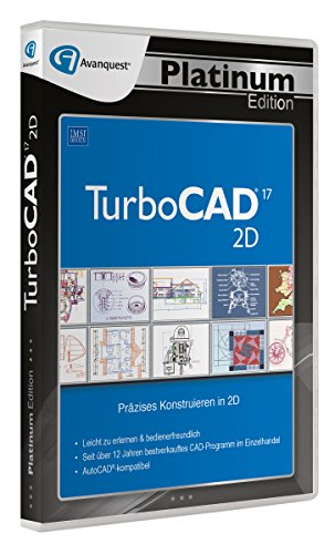 TurboCAD 2D 17 - Avanquest Platinum Edition