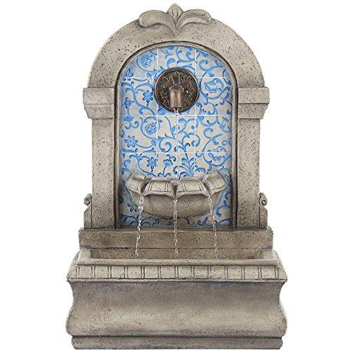 John Timberland Manhasset Outdoor Wall Water Fountain 30 1/4