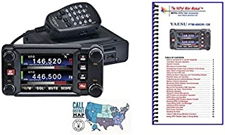 Yaesu FTM-400XD Radio and Accessory Bundle -- Includes C4FM Dual Band Transceiver, Nifty! Mini Manual and Ham Guides TM Quick Reference Card!!