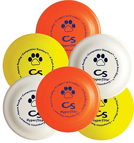 Hyperflite K-10 Competition Standard Dog Disc,multi,6 Pack