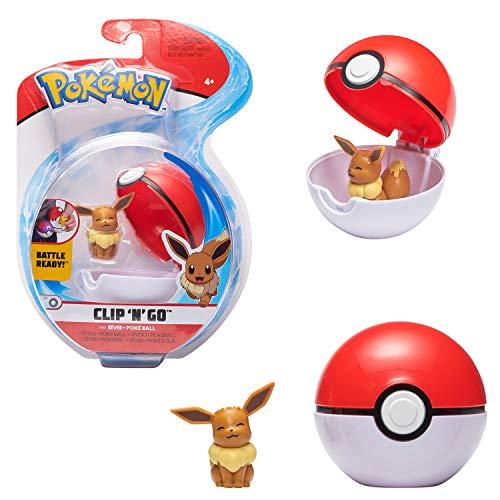 Bandai WT00041 Pokémon Poké Ball y su Figura 5 cm