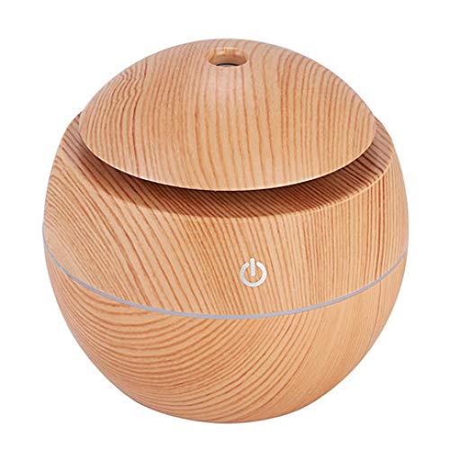 SUNHAO Humidificateur Champignon Grain de Bois camphre Voiture Maison Mini USB humidifie