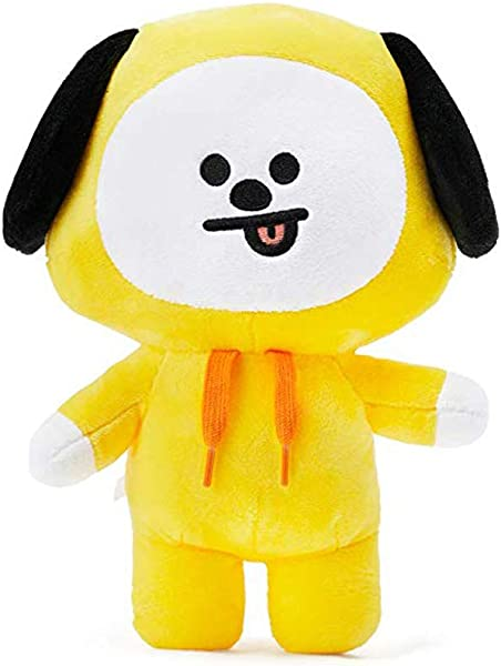 Lerion BTS Pillow Doll Plush Small Plush Puppets Toy Character Plush Standing Figure D Cor Chimmy