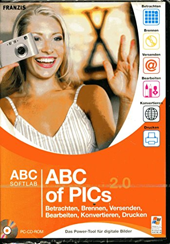 ABC of Pics 2.0, CD-ROM Das ABC der Bildverwaltung. Bilder und Cliparts browsen, sortieren, ansehen, drucken