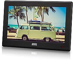 August, DA100D, draagbare HD-tv, DVB-T2, MPEG4, H.264/H.265/HEVC, LCD-tv met PVR en multimediaspeler, digitale en...