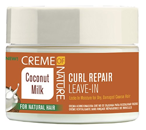 Creme of nature coconut milk curl reapir leave in 326g