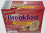 Benton's Breakfast Biscuits, Brown Sugar and Cinnamon - 8.8 OZ - 5 Packs of 4 Biscuits