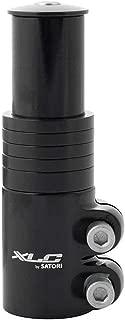 XLC Alloy Stem Raiser, 28.6 x 117mm, Black