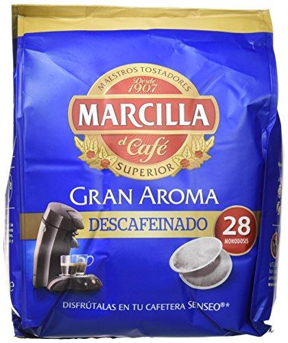 Marcilla Café Descafeinado, 5 x 28 monodosis
