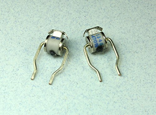 (RS #3) 6pcs World Products Gas Discharge Tube Arrestor, 470v, 2 Electrodes Mini Series