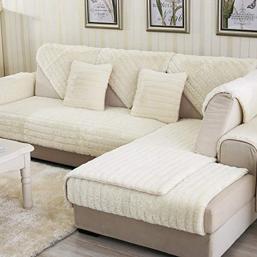 Couch schonbezug,schonbezüge für Sofa,sofaschoner ecksofa,Couch überwurf,2/3/4-Sitzer Thermo-Couch Sofabezüge,Dicke Plüsch Sofa Schonbezug,Küche/Schlafzimmer/Patio Sofa Schild,Sofa Saver Protec-B