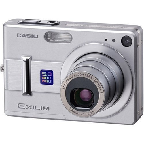 Learn More About Casio Exilim EXZ55 5MP Digital Camera with 3x Optical Zoom
