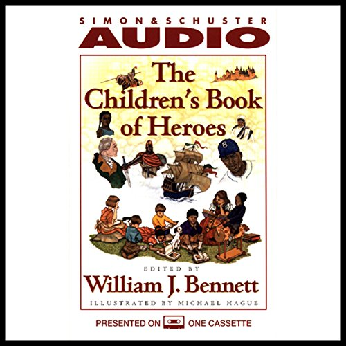 The Children's Book of Heroes audiobook cover art