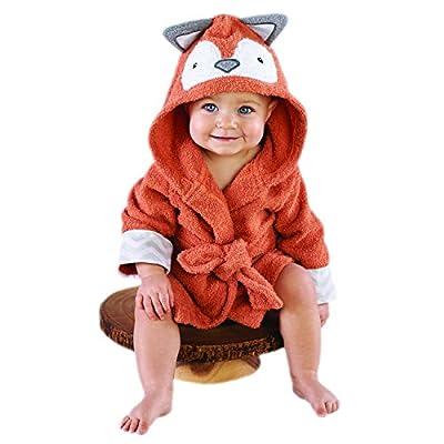 Baby Aspen Zebra Hooded Robe