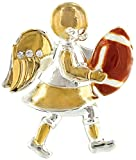 Wings and Wishes Angel Tac Pin, Football Angel