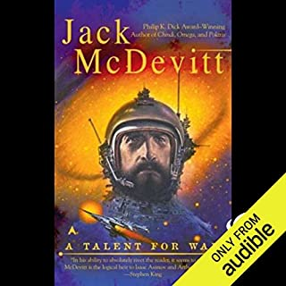 A Talent for War      An Alex Benedict Novel              By:                                                                                                                                 Jack McDevitt                               Narrated by:                                                                                                                                 Gregory Abbey,                                                                                        Jack McDevitt                      Length: 12 hrs and 49 mins     456 ratings     Overall 3.8