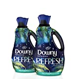 Downy Infusions Liquid Fabric Conditioner (Fabric Softener), Refresh, Birch Water & Botanicals, 56 Oz Bottles, 166 Loads Total