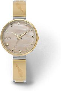 زايروس ساعة رسمية للنساء ، انالوج بعقارب - ZY612L060653